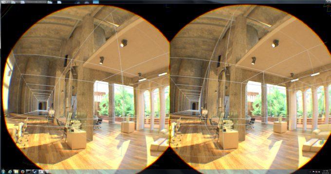 NVIDIA Iray VR Using Light Fields & Pro VR Viewer