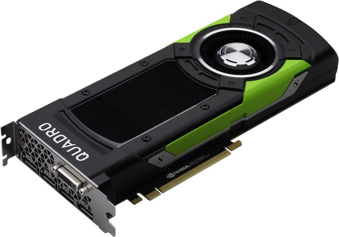 NVIDIA Quadro P6000 Press Shot