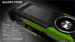 NVIDIA SIGGRAPH 2016 Slide Quadro P5000