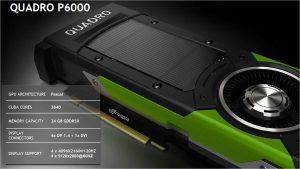 NVIDIA SIGGRAPH 2016 Slide Quadro P6000