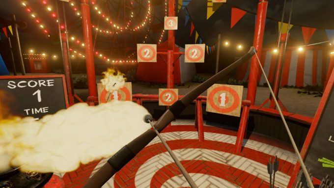 NVIDIA VR Funhouse - Fire Archer