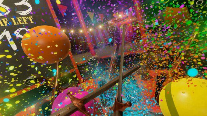 NVIDIA VR Funhouse - Popping Balloons