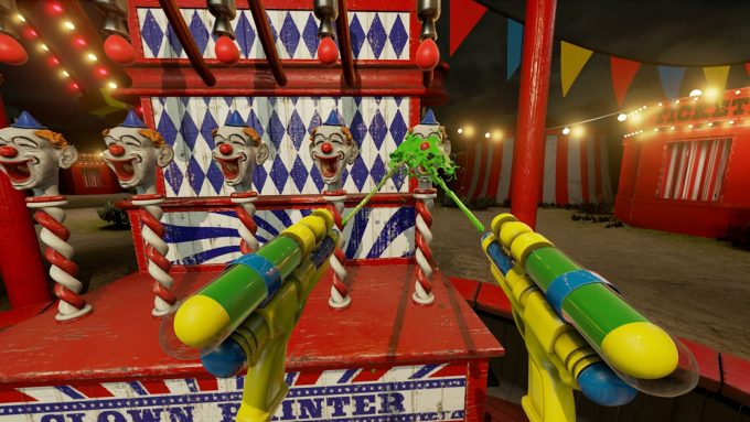 NVIDIA VR Funhouse - Shooting Clowns