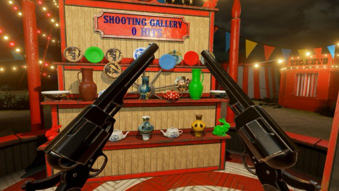 NVIDIA VR Funhouse - Shooting Gallery