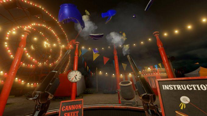 NVIDIA VR Funhouse - Skeet Shooting