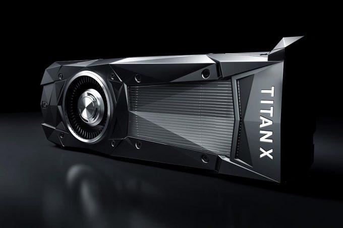 New NVIDIA Pascal TITAN X