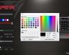 Patriot Viper V760 - Lighting Color Selection