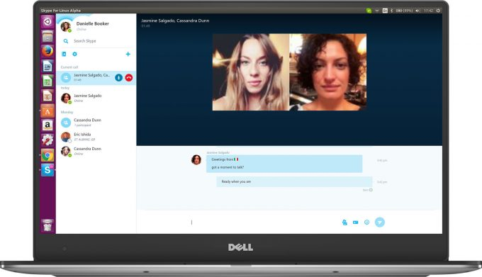 Skype for Linux Alpha (Video Calling)