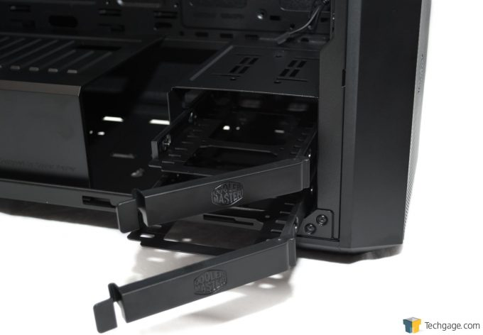 Techgage Review Cooler Master MasterBox 5 HDD Caddy System