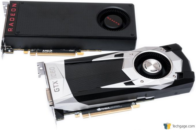 AMD Radeon RX 480 and NVIDIA GeForce GTX 1060