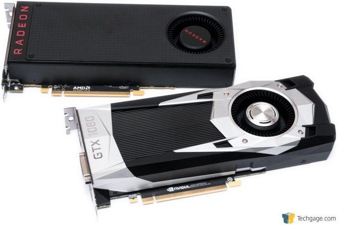AMD Radeon RX 480 and NVIDIA GeForce GTX 1060
