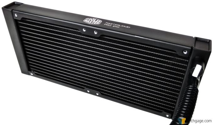 Cooler Master MasterLiquid Pro 240 - Radiator