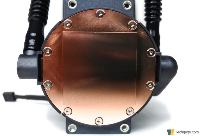 Cooler Master MasterLiquid Pro 240 - Water Block Copper Plate