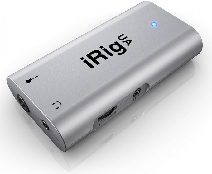 IK Multimedia iRig UA Press Shot