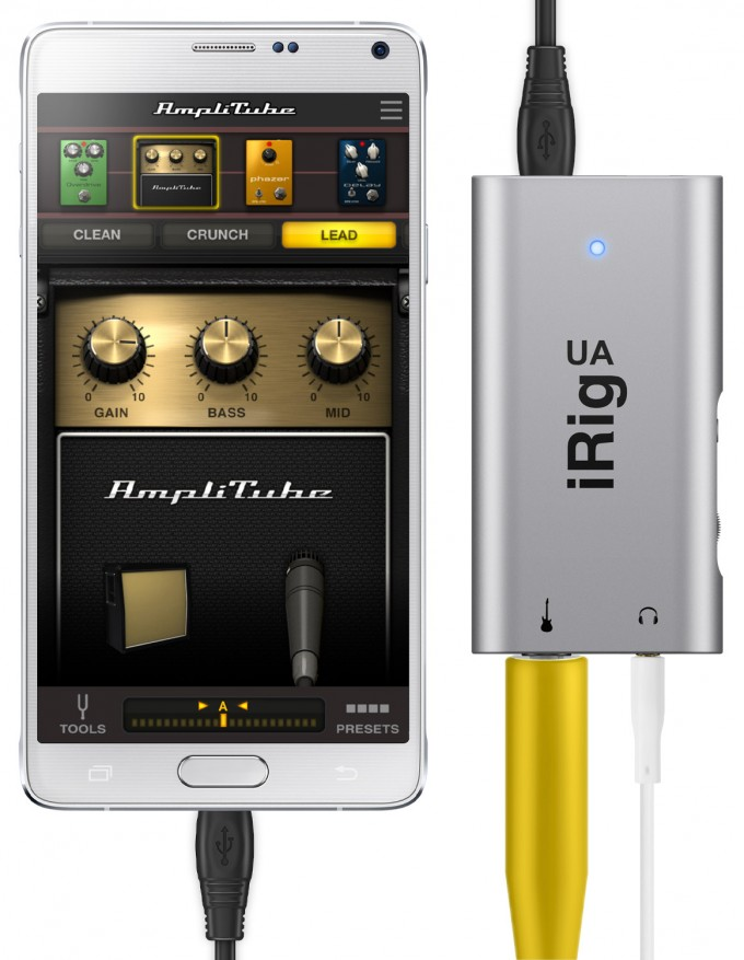 IK iRig UA App With Leads