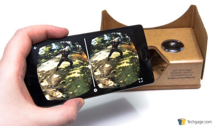 NVIDIA Ansel 3D Spherical Witcher 3 On Google Cardboard