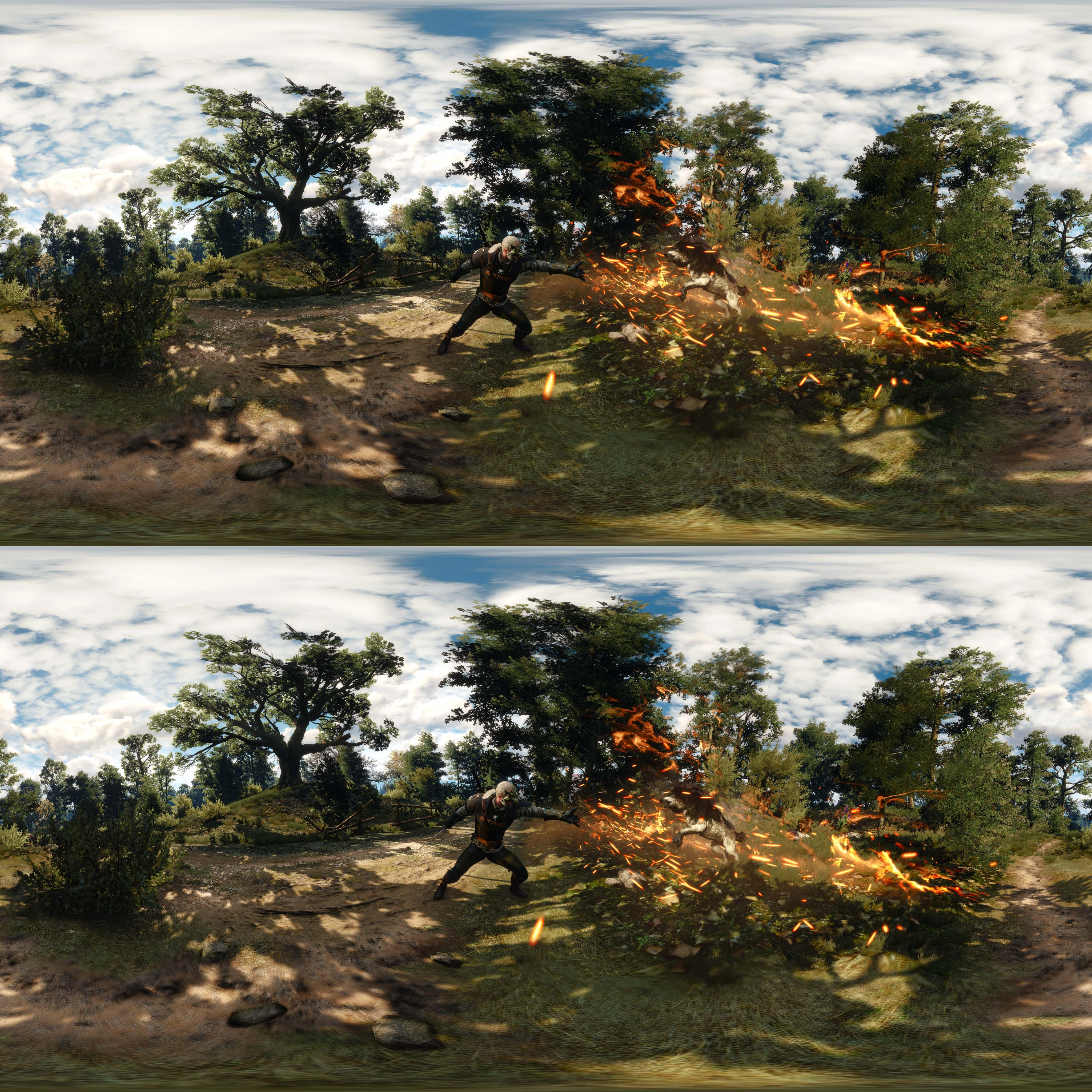 The Witcher 3: Wild Hunt Enables NVIDIA Ansel Support For 3D