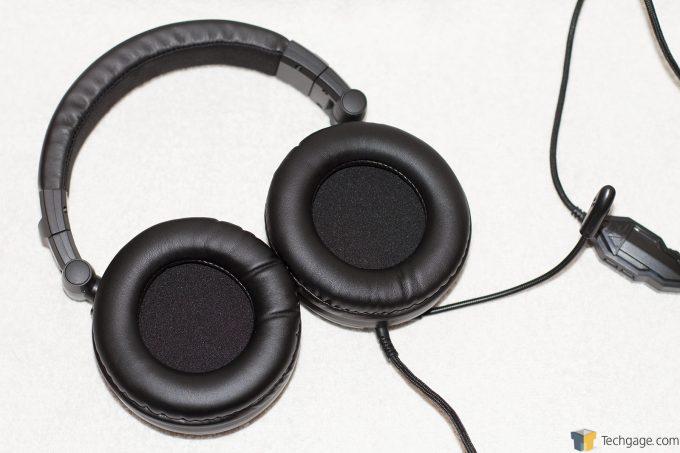 Gamdias Hephaestus V2 Gaming Headset Earcup View