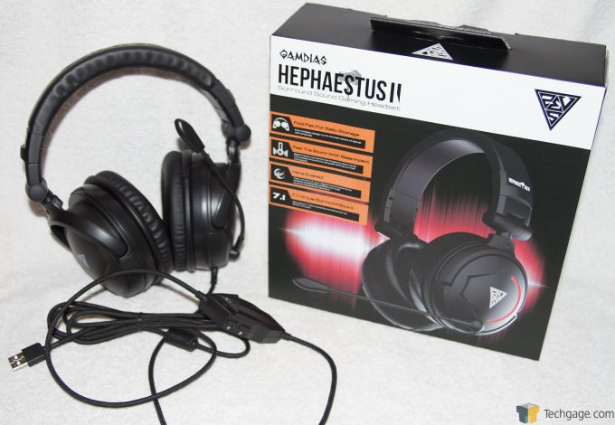 Gamdias Hephaestus V2 Gaming Headset Overview