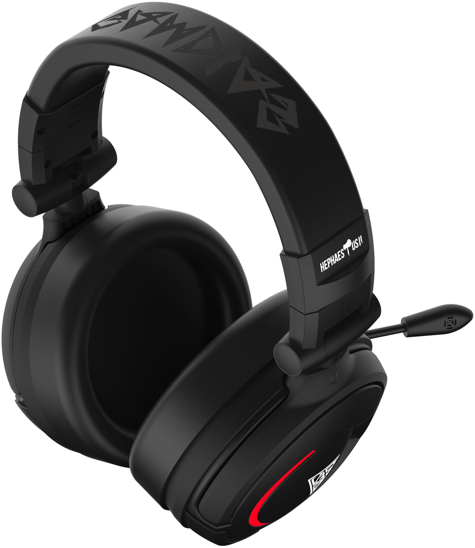 Gamdias Hephaestus V2 Gaming Headset Stock Image