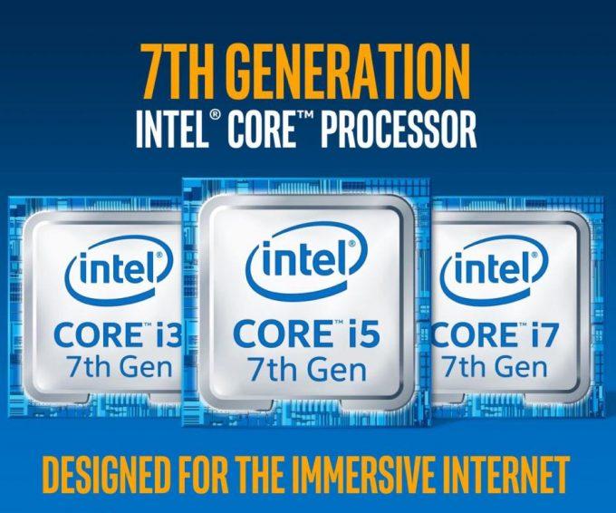 Intel 7th Gen CPU Launch