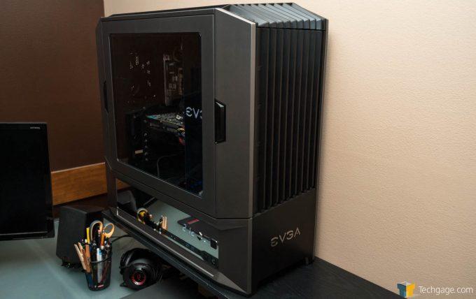 Techgage Review Of The Evga Dg 87 Gaming Case Shot On Shelf