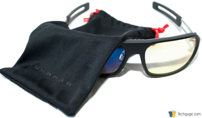 Techgage Review Of The Gunnar Trooper Gaming Glasses With Cover Shot