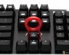 AZIO MGK1 RGB Keyboard Review Key Puller