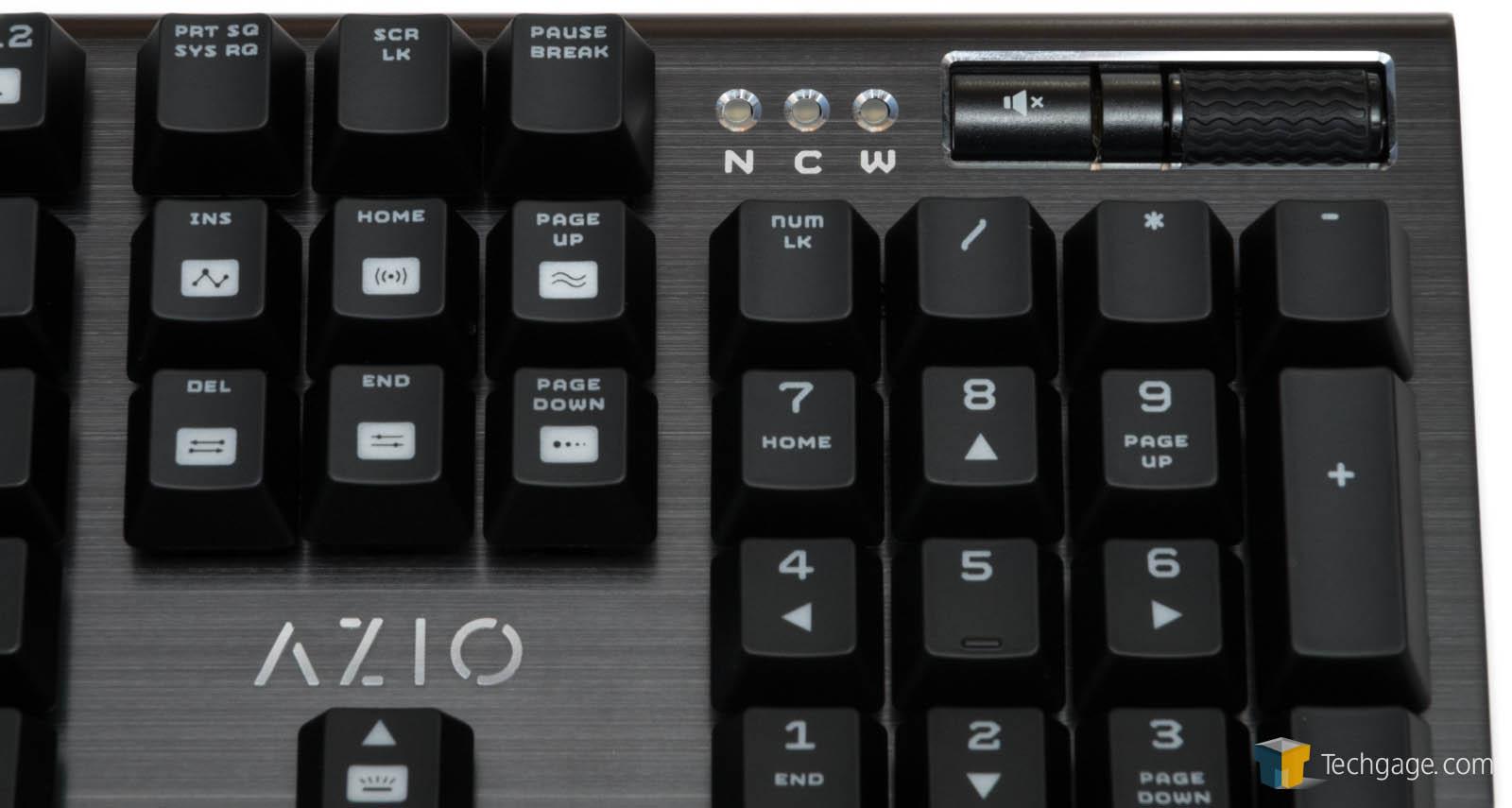 Azio Mgk1 Rgb Backlit Mechanical Gaming Keyboard Review