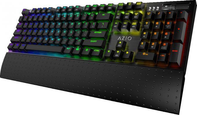 AZIO MGK1 RGB Press Shot