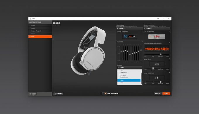 SteelSeries Engine Software