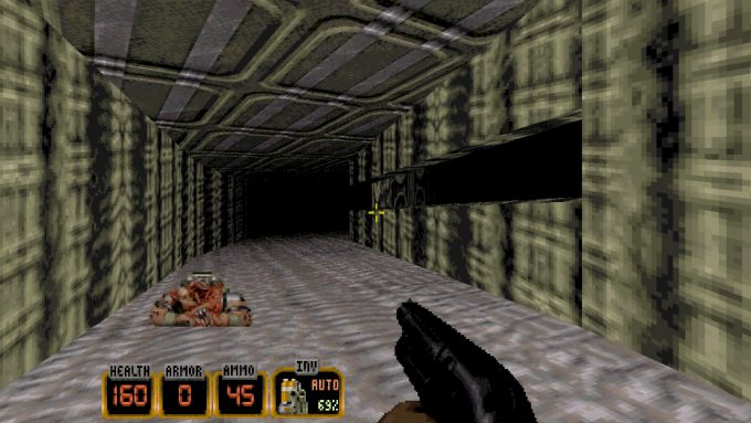 Duke Nukem 3D 20th Anniversary Old Graphics 1