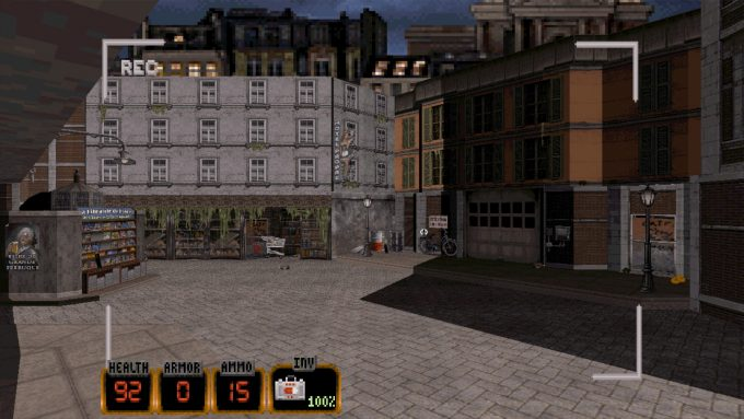 Duke Nukem 3D 20th Anniversary Old Graphics 3