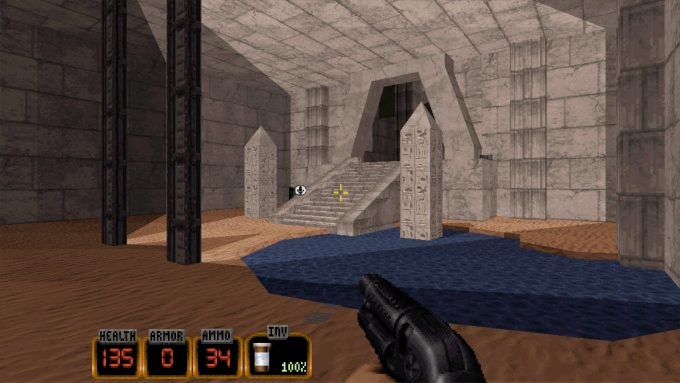 Duke Nukem 3D 20th Anniversary Old Graphics 4