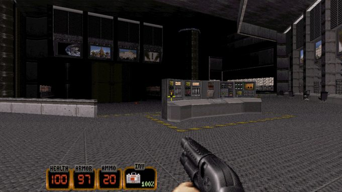 Duke Nukem 3D 20th Anniversary Old Graphics 5