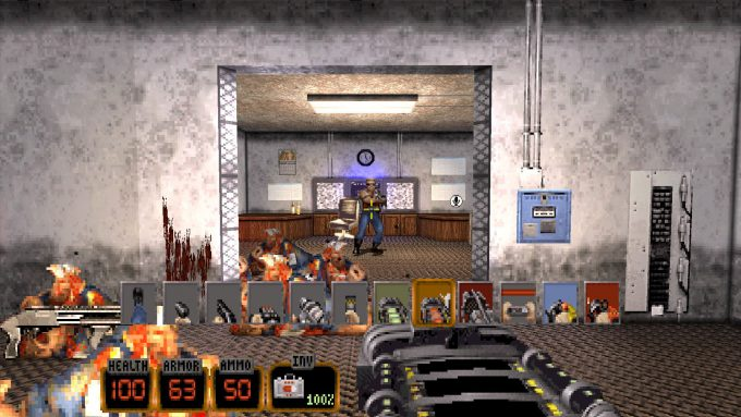 Duke Nukem 3D 20th Anniversary Weapon Selection