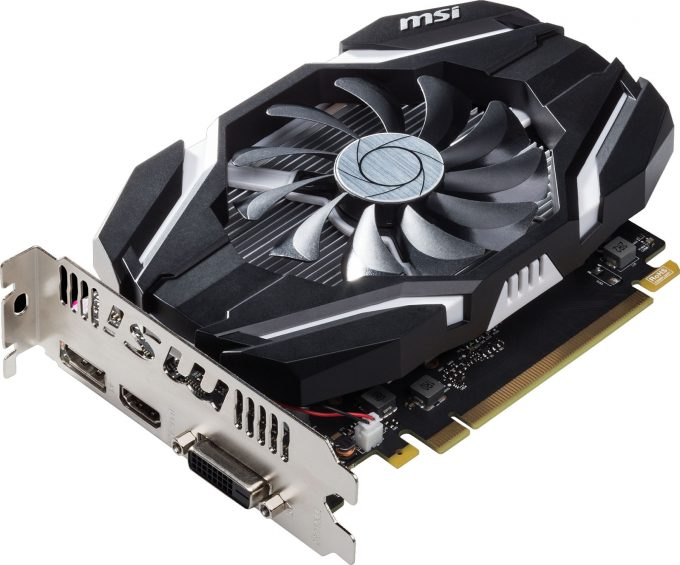 how to connect msi geforce 1050 ti