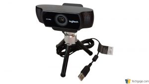 Logitech C922 Pro Stream Webcam - Mounted On Tripod