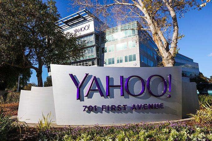 Yahoo Campus Sign