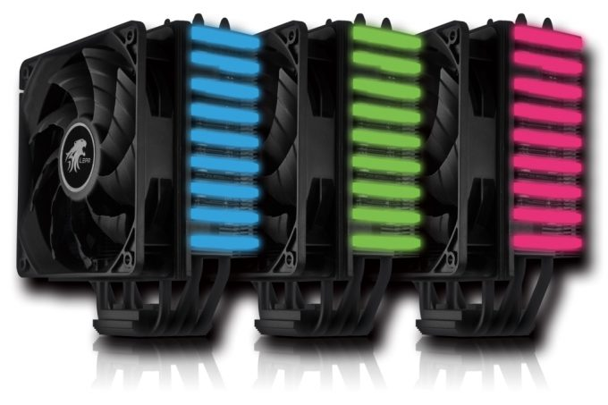 LEPA NEOllusion RGB CPU Cooler - Press Shot