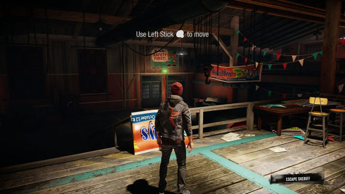 inFAMOUS Second Son PS4 Pro Resized 4K To 1080p