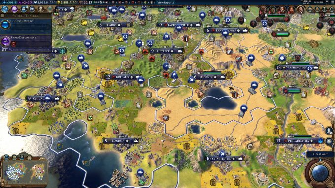 Civilization VI Eurocom M5 R2 Gaming Notebook (1080p)