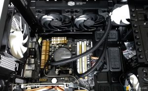 Cooler Master MasterLiquid Pro 240 - Completed Installation