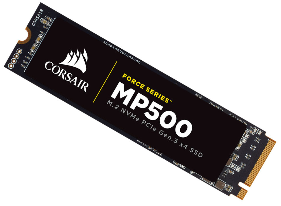 Corsair Cooks Up Crazy Fast Mp500 Force Series Nvme M 2