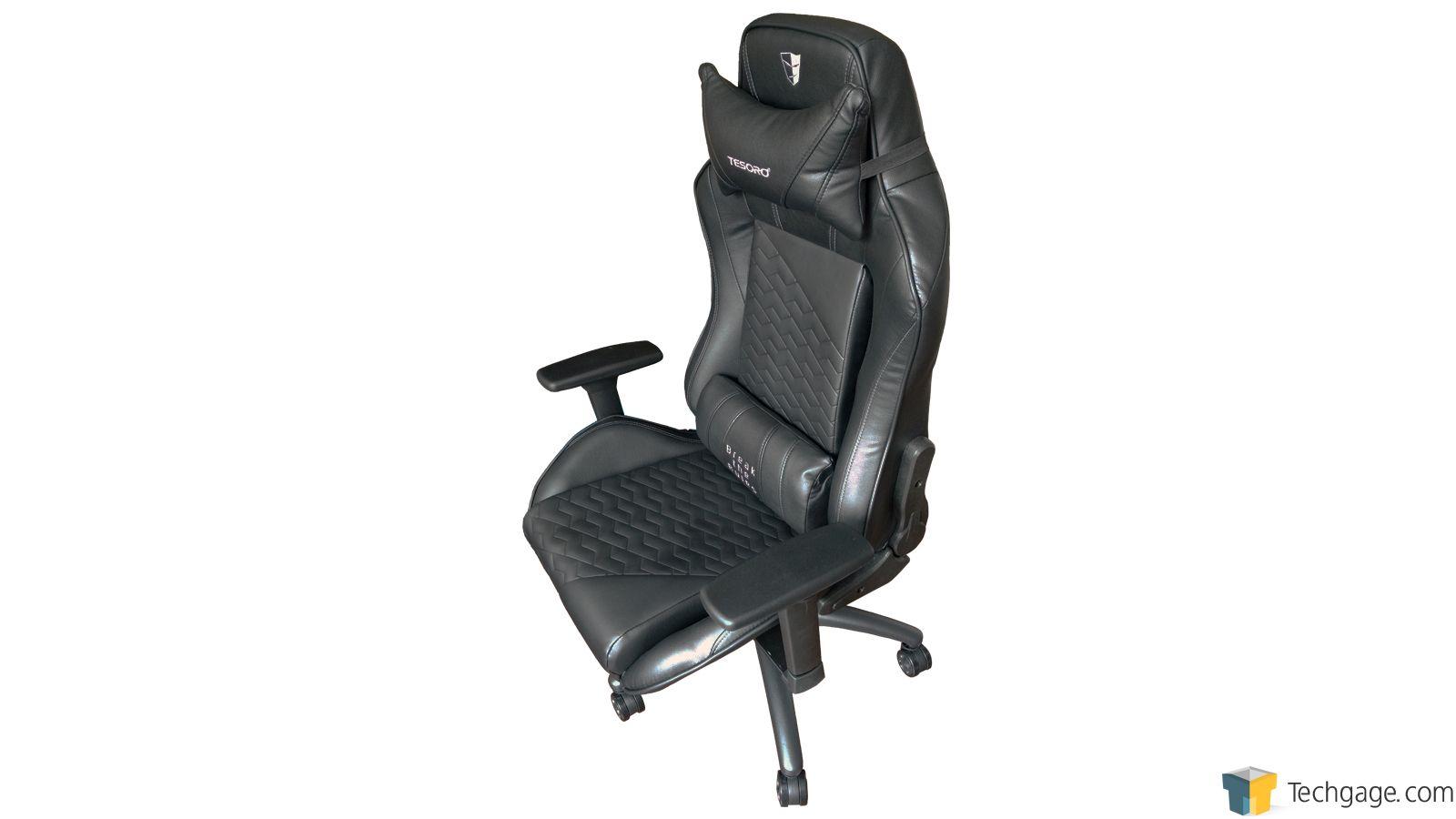 Tesoro Zone Balance Gaming Chair Review Techgage