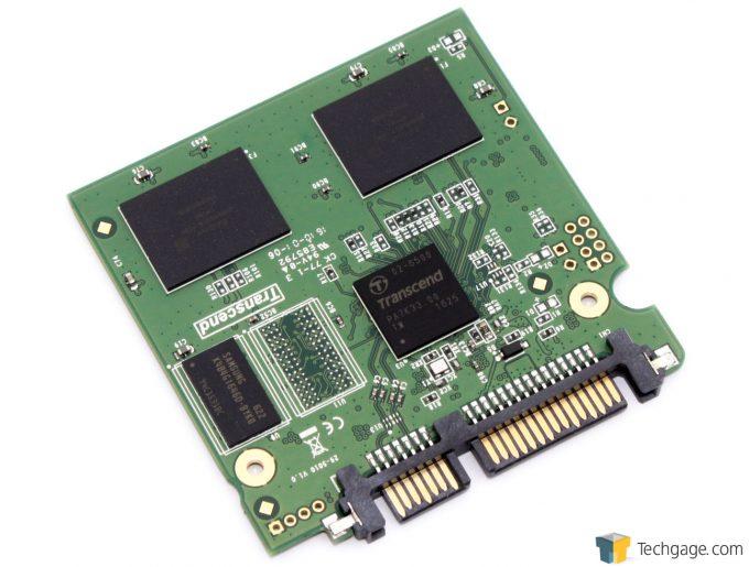 Transcend SSD370S SSD Bare PCB