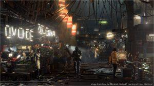 AMD Vega Slides - Deus Ex Mankind Divided Rendred Scene