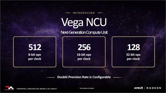 AMD Vega Slides - FLOPS Configuration