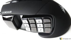Corsair Scimitar Pro RGB - Keypad