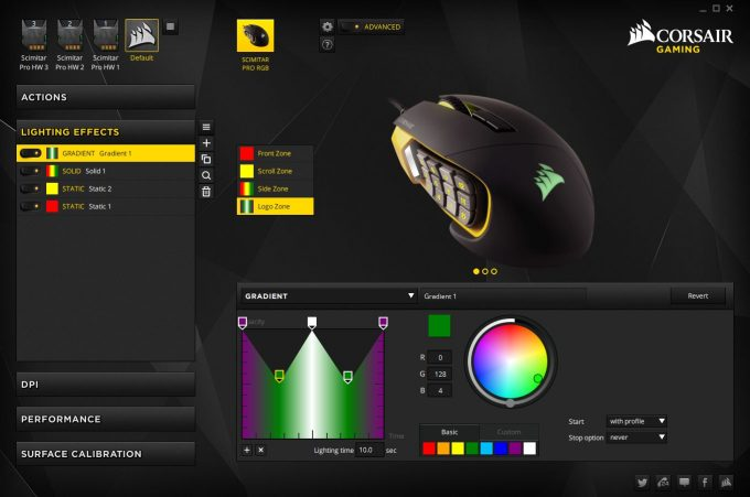 Corsair Scimitar Pro RGB - Lighting Effects & Corsair Scimitar Pro RGB Gaming Mouse Review u2013 Techgage azcodes.com